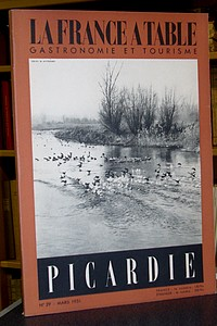 La France à Table, Picardie, n° 29, mars 1951 - Revue