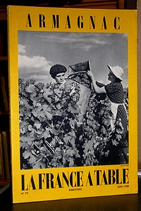 La France à Table, Armagnac, n° 73, juin 1958 - Revue