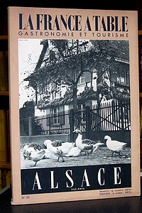 La France à Table, Alsace Bas-Rhin, n° 36, mars 1952 - Revue