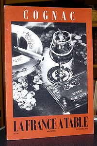La France à Table, Cognac, n° 80, octobre 1959 - Revue