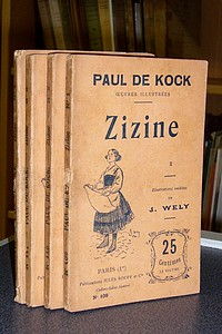 Zizine (4 volumes) - de Kock, Paul