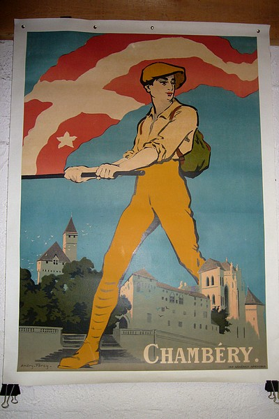 Chambéry (affiche) - Andry - Farcy