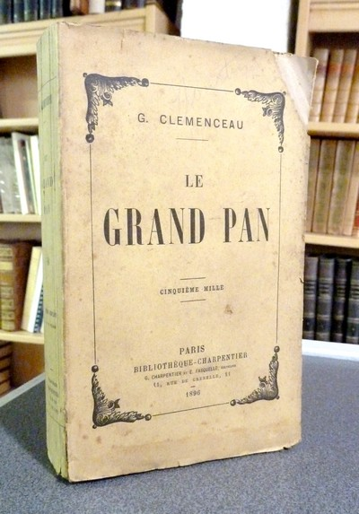 Le grand Pan - Clémenceau George