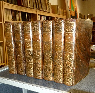 Oeuvres complettes d'Alexis Piron (7 volumes) - Piron Alexis