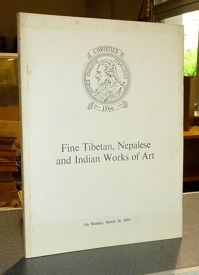 livre ancien - Fine Tibetan, Nepalese and Indian Works of Art. Christie's, March 19, 1973 -
