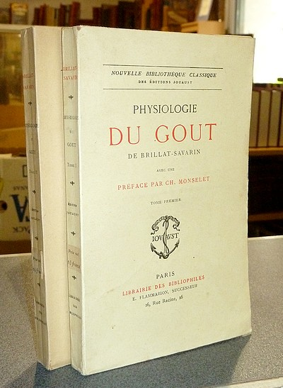 Physiologie du Goût (2 volumes) - Brillat-Savarin