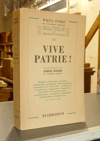 Vive Patrie ! - Fort, Paul
