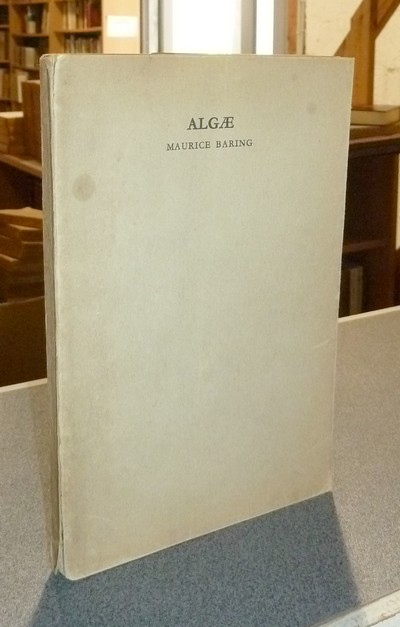 livre ancien - Algae, an anthology of phrases - Baring, Maurice