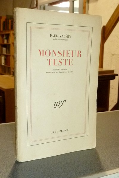 Monsieur Teste - Valéry, Paul