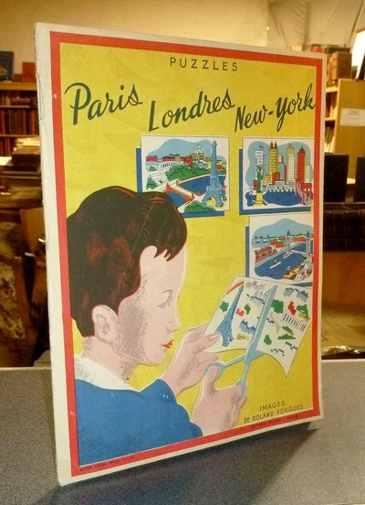 livre ancien - Puzzles. Paris, Londres, New-York. Images de Roland Forgues - Forgues, Roland