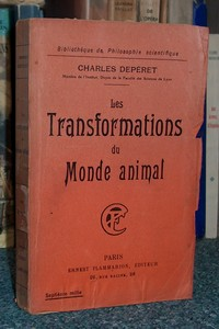 Les transformations du monde animal - Depéret Charles