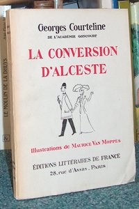 livre ancien - La conversion d'Alceste - Courteline Georges