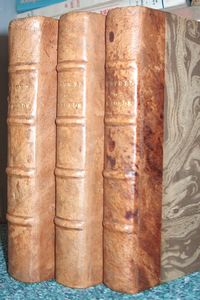 Oeuvres diverses de M, Borde (3 volumes 1786) - Borde