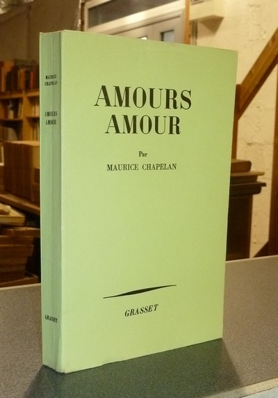 Amours amour - Chapelan, Maurice