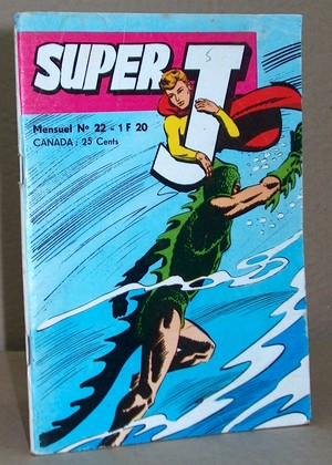 Super J N° 22 - Un univers aquatique -