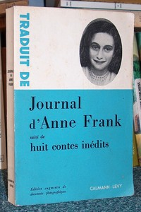 Journal d'Anne Frank - Frank Anne